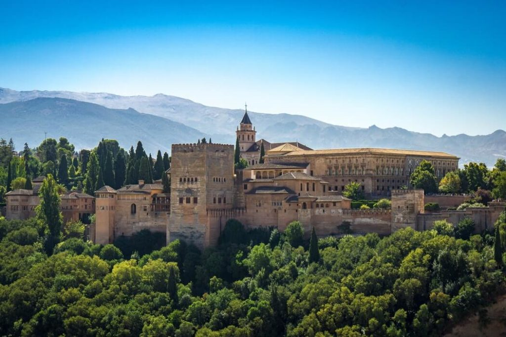 Granada, castel alehambra, camper trip, campervan rental spain