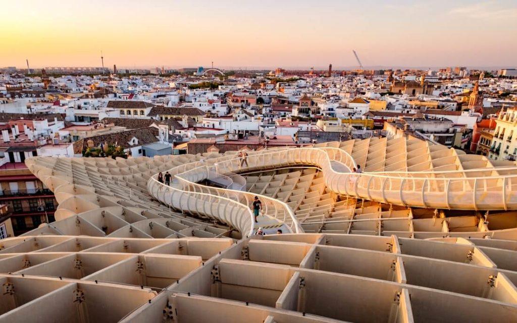Las Setas de sevilla, road trip, attractions Andalucia