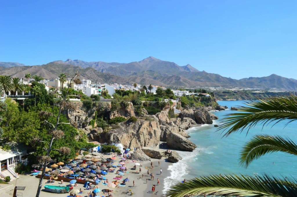 Nerja - holiday - camper - trip - visit spain