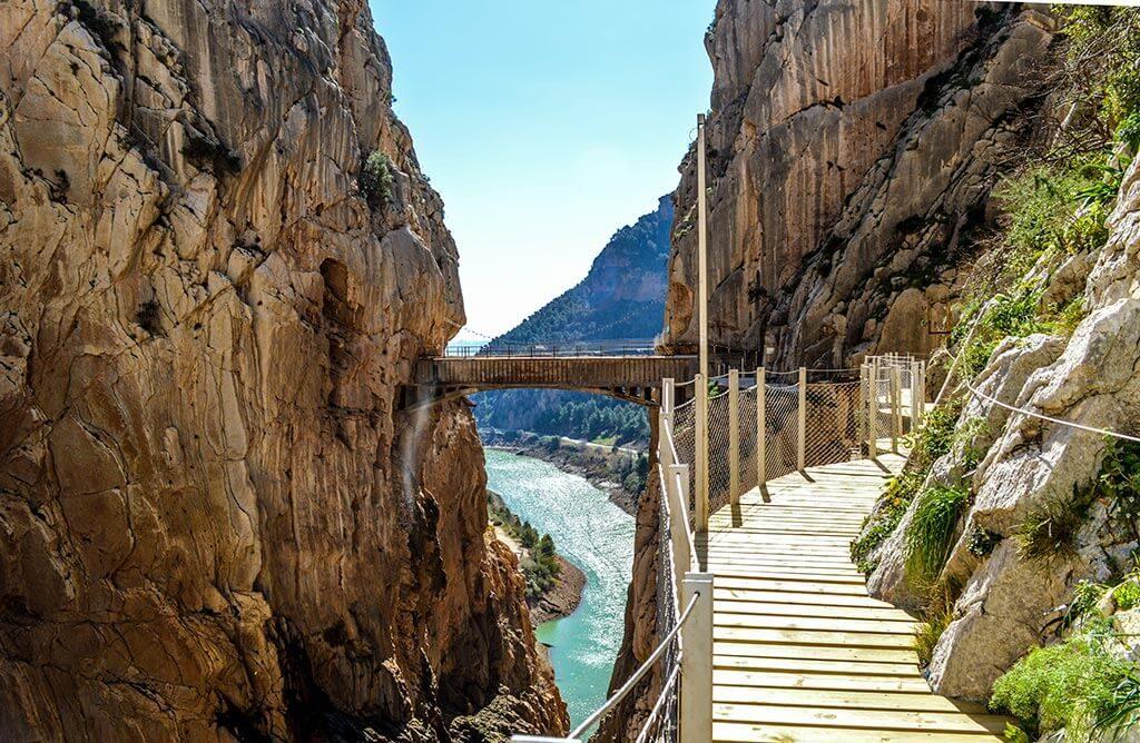 caminito-del-rey, visit andalusia, campervan trip