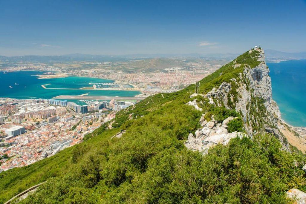 gibraltar - spain trip camper van