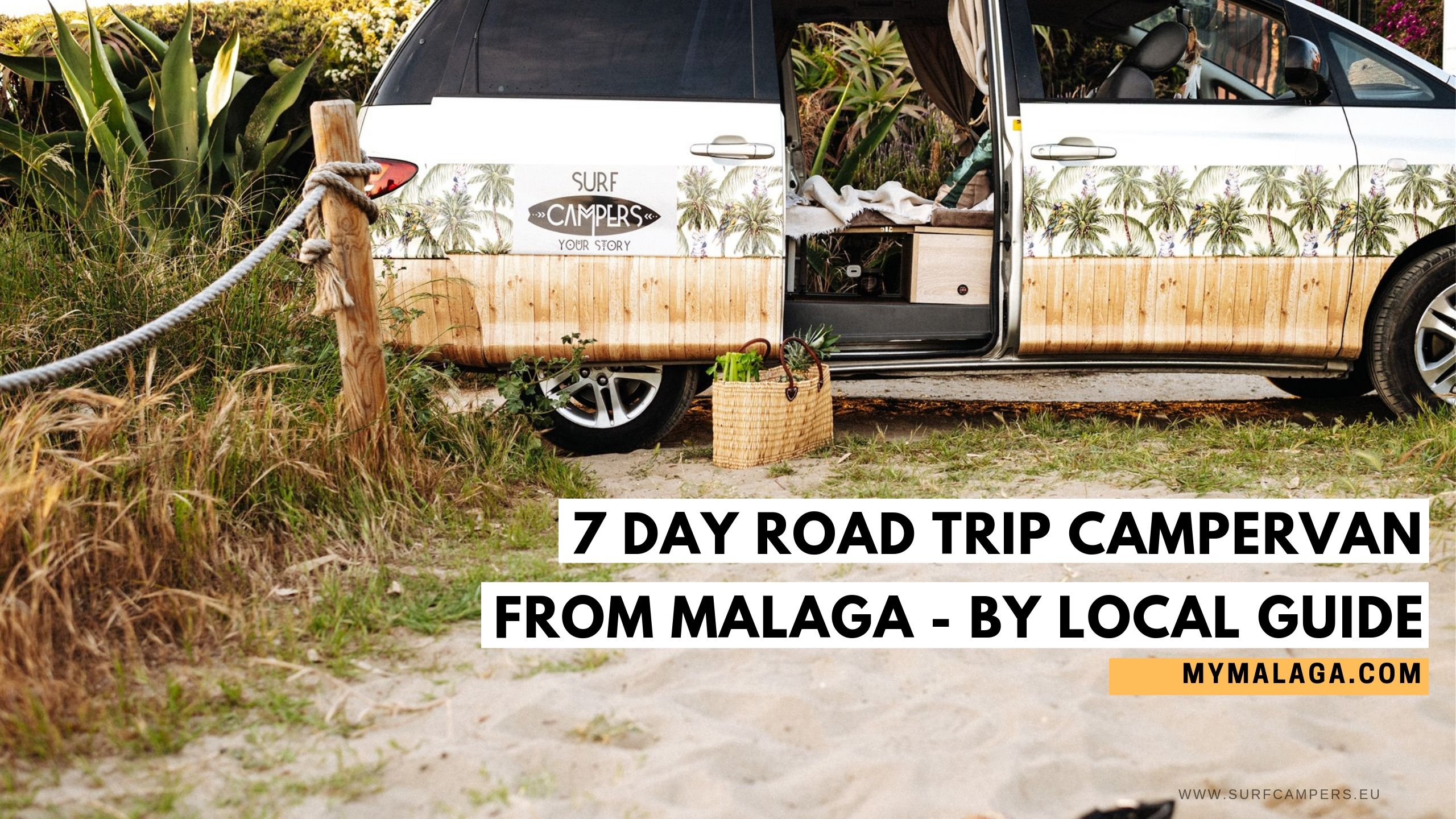 7 days road trip campervan from Malaga – by local guide MyMalaga.com