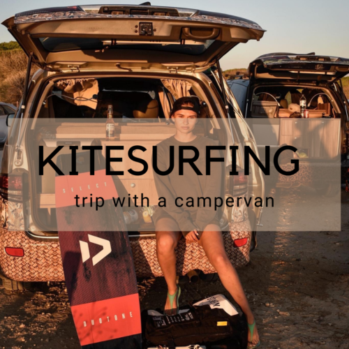 Kitesurfing Campertrip Surfcampers