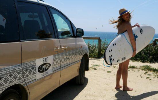 kitesurfing campervan trip spain Surfcampers