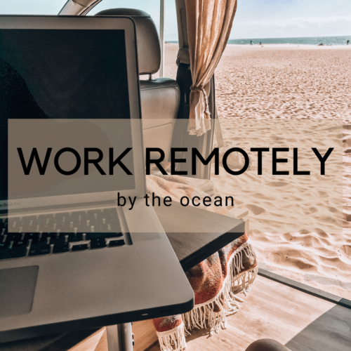 Working remotely Surfcampers